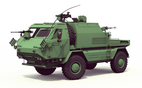 Tactical Support Vehicle Concept by GGMVDB
