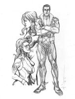 Namor Pencils by ncajayon