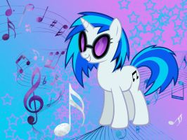 DJ PON-3 Wallpaper by Brightshadow813