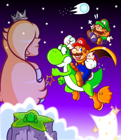 Remake: New Universe, New Mario World by JamesmanTheRegenold