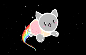 Nyan cat (Request) by Zionthe2