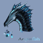 WoF - Anglerfish (with Shade) by chrissi1997