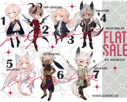 [mixed batch] flat sale! [closed] by yukibuns