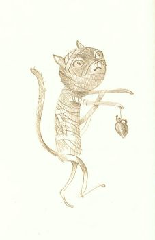 Zombie Cat by miorats