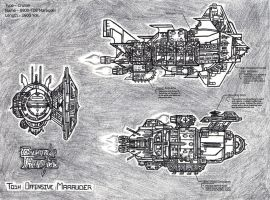 Galaxy Parell - Tosh Offensive Marauder by NikeMike34