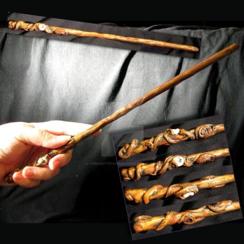 Old Growth Wand by thedustyphoenix