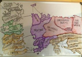 Game of Thrones Risk Edition by timburtongot
