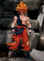 Son Goku Wild Style Figure by jeffbedash325