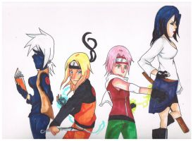 team 7 gender bent by b-girl13