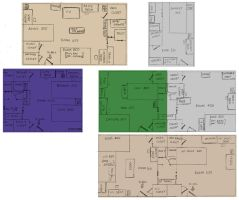 IofM: Room Layout by klinanime
