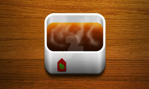 Tea Icon iOS by spellbound7