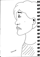 Woman Side Face by SketchyCAM