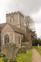12th Century Church Stock 3 by Sheiabah-Stock
