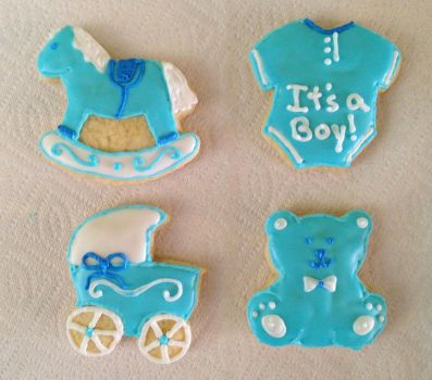It's a boy 2 by MandysCakesNCandies