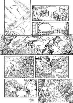 Eggs page 7 - pencil by StefanoSpaziani