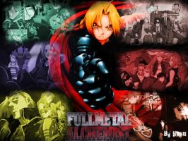 Edward Elric Wallpaper xD by Kamio-Tenshi