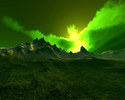 Emerald Mountains by hypnotic