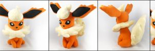 Flareon Plush by sakkysa