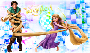 Tangled Disney by xRainbowDrop
