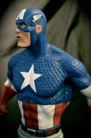 Captain America sculpture by CsDesigns83