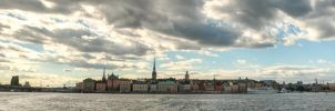 Stockholm city by simsunas