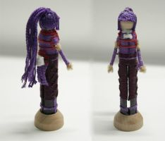 AKATSUKI (Log Horizon) Worry Doll by ileenda
