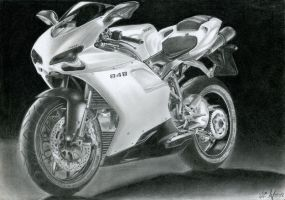 Ducati 848 by watracz