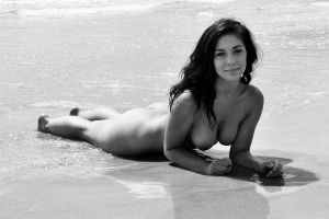 sand sphinx smile monochrome by andre-j