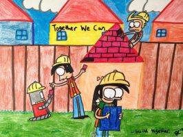 Building Together by BuddyComics