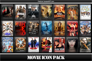 Movie Icon Pack 10 by FirstLine1
