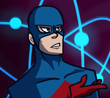 atom doodle by Authenti