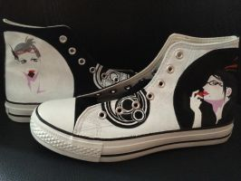 Bayonetta sneakers by JanosAstarte
