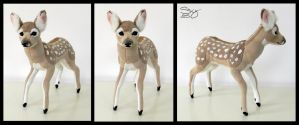 Whitetail Fawn by SarityCreations