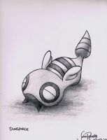 Dunsparce by johnrenelle