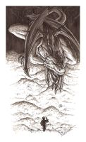 11: The Hobbit - Smaug's bed by ritchat