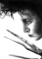 edward scissorhands by blastedgoose