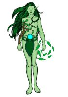 Dryad by digaman