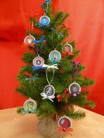 Avengers Christmas Ornaments by Monostache