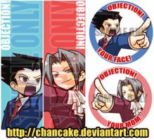 PW BOOKMARKS+STICKERS by Chancake