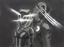 Isaac and Tali (2) by spaceMAXmarine