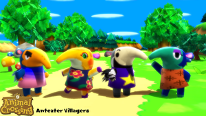 (MMD Model) Anteater Villagers Download by SAB64