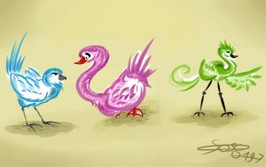 Birds Designs by soso0197
