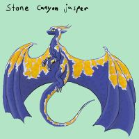 Stone Canyon Jasper Dragon Adoptable (sold) by Ravenskysong