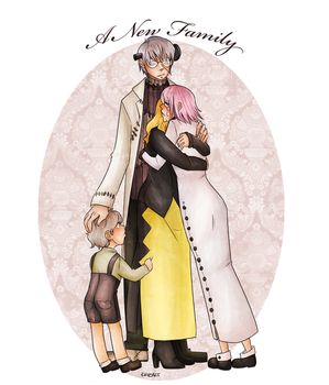 The Stein family (post-manga) by Ynot7