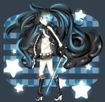 Black Rock Shooter by Cherubii