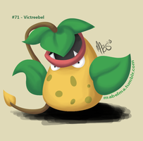 071: Victreebel by Mabelma