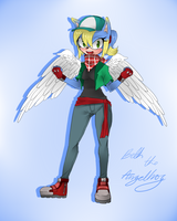 + Beth the Angelhog + Bio + by sonxfanchara