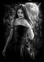 Vampire Girl by AndrewDobell