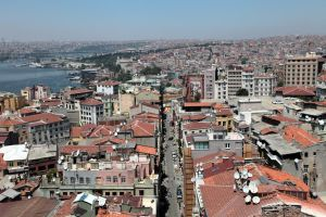 Istanbul - View from Galata Tower V by puppeteerHH