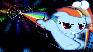 Sonic Rainboom by JustaninnocentPony